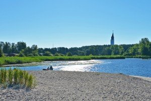 Environment, seaside, beaches, bicycle path, Sventoji resort - 27