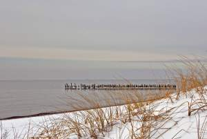 Seaside of Sventoji in winter - 4
