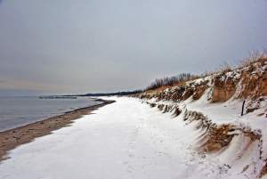 Seaside of Sventoji in winter - 7
