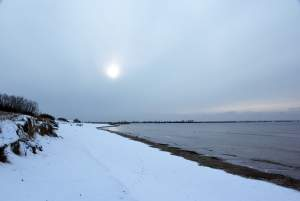 Seaside of Sventoji in winter - 8