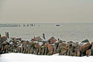 Seaside of Sventoji in winter - 13