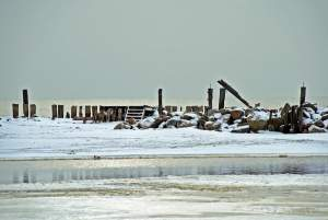 Seaside of Sventoji in winter - 14