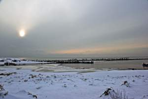 Seaside of Sventoji in winter - 18