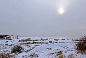 Seaside of Sventoji in winter - 20